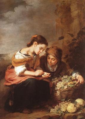 Murillo The Little Fruit Seller