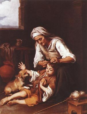 Murillo The Toilette