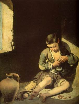 Murillo The Young Beggar