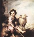 Murillo Christ the Good Shepherd