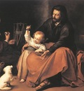 murillo the holy family