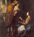 Murillo The Holy Family c1660