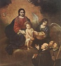 Murillo The Infant Jesus Distributing Bread to Pilgrims