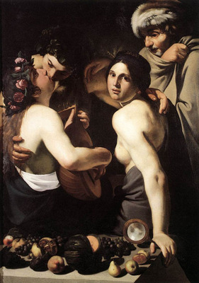 MANFREDI Bartolomeo Allegory of the Four Seasons