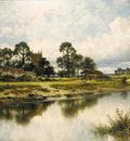Leader Benjamin Williams Severn Side Sabrina s Stream at Kempsey on the River Severn