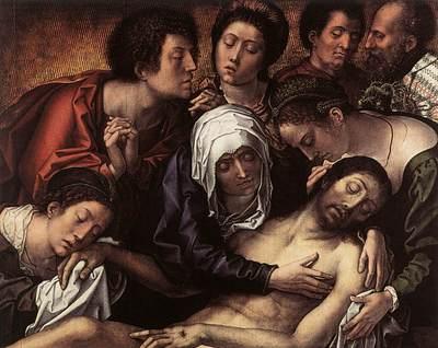 ORLEY Bernaert van Haneton Triptych central