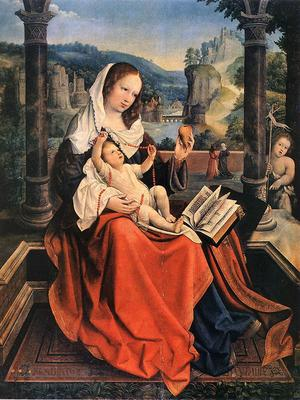 orley bernaert van virgin and child