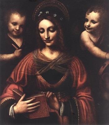 LUINI Bernardino Saint Catherine