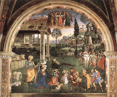 PINTURICCHIO Adoration Of The Child