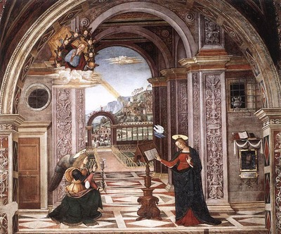 PINTURICCHIO Annunciation