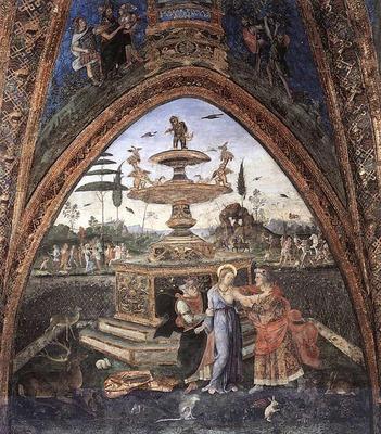 PINTURICCHIO Susanna And The Elders