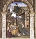 PINTURICCHIO Adoration Of The Christ Child