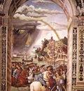PINTURICCHIO Aeneas Piccolomini Leaves For The Council Of Basle