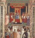 PINTURICCHIO Pope Aeneas Piccolomini Canonizes Catherine Of Siena