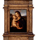 Pinturicchio Bernardino Di Betto The Madonna And Child Before A Landscape
