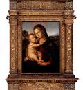Pinturicchio Bernardino Di Betto The Madonna And Child Before A Landscape
