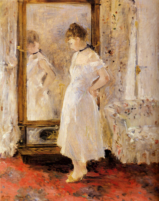 Morisot Berthe The Cheval Glass