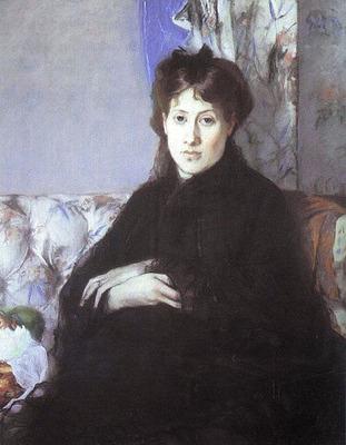 Portrait of Edma Pontillon nee Morisot CGF