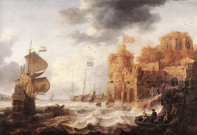 PEETERS Bonaventura the Elder An Oriental Harbour
