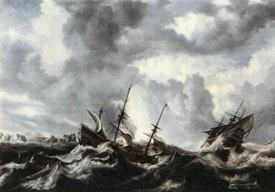 PEETERS Bonaventura the Elder Storm On The Sea