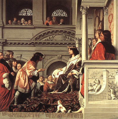 EVERDINGEN Caesar van Count Willem II Of Holland Granting Privileges