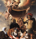 EVERDINGEN Caesar van Allegory Of The Birth Of Frederik Hendrik