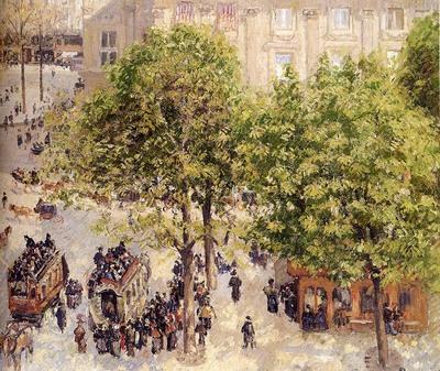 Pissarro Camille Place Du Theatre Francais