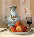 Pissarro Camille Still Life With Apples And Pitcher