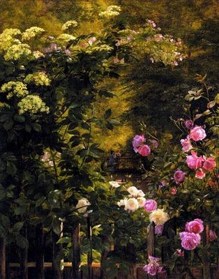 Aagaard Carl Frederick The Rose Garden