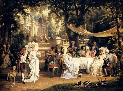 Schweninger Carl The Garden Party
