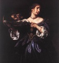 DOLCI Carlo Salome with the Head of St John the Baptist