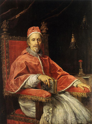MARATTI Carlo Portrait of Pope Clement IX