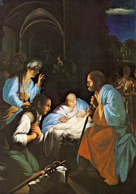 SARACENI Carlo The Birth Of Christ