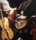 SARACENI Carlo Saint Cecilia And The Angel