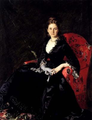 Carolus Duran Emile Auguste Charles Portrait Of Mme N M Polovtsova