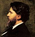 Carolus Duran Charles Emile A Portrait Of Philippe Burty