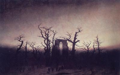 Abbey in an Oak Forest CGF