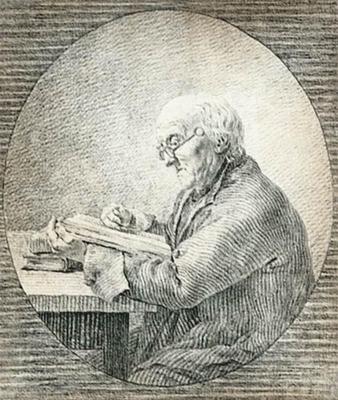 FRIEDRICH Caspar David Adolf Gottlieb Friedrich Reading