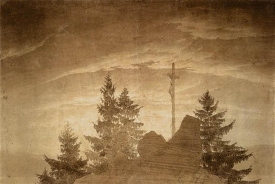 FRIEDRICH Caspar David Cross In The Mountains