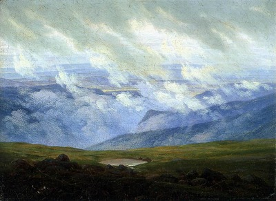 FRIEDRICH Caspar David Drifting Clouds