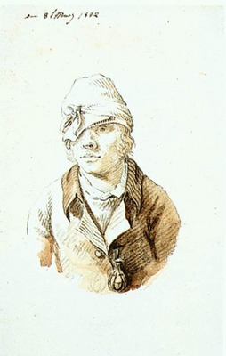 FRIEDRICH Caspar David Self Portrait With Cap And Sighting Eye Shield