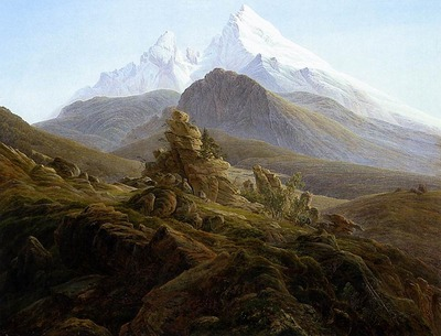 FRIEDRICH Caspar David The Watzmann