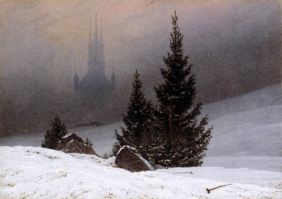 friedrich caspar david winter landscape 1811