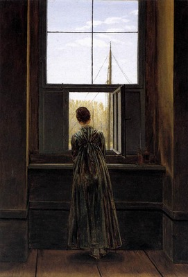 FRIEDRICH Caspar David Woman At A Window
