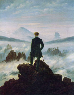 Wanderer above the Sea of Fog HSE