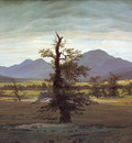 C D Friedrich Landscape with Solitary Tree