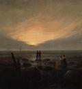 FRIEDRICH Caspar David Moonrise By The Sea