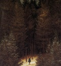 FRIEDRICH Caspar David The Chasseaur In The Forest