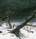 friedrich caspar david winter landscape 1811