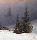 FRIEDRICH Caspar David Winter Landscape With Church